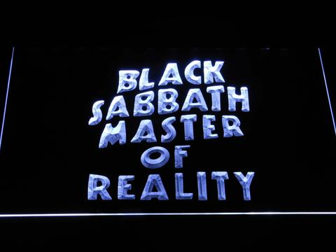 Black Sabbath Master of Reality LED Neon Sign