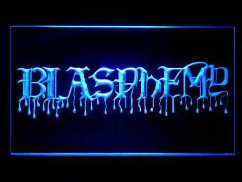 Blasphemy LED Neon Sign