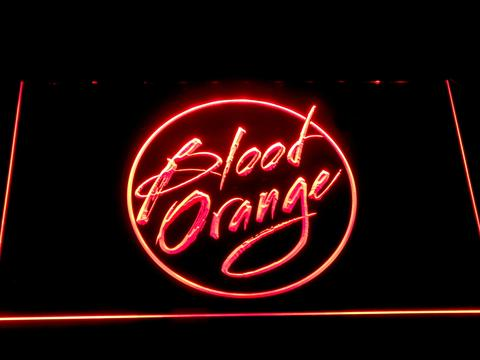 Blood Orange LED Neon Sign