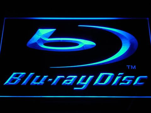 Blu-ray Disc Logo Display LED Neon Sign