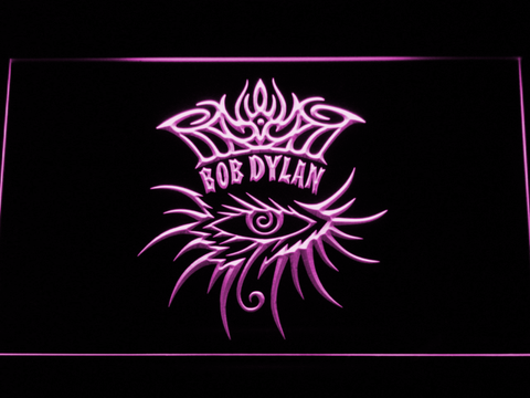 Bob Dylan Eye LED Neon Sign