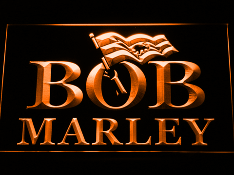 Bob Marley LED Neon Sign