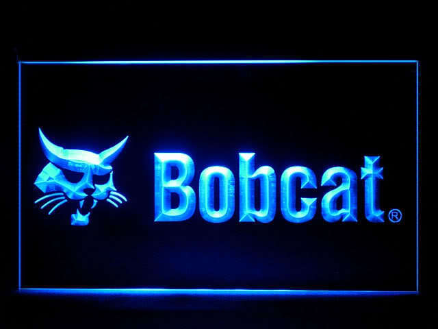Bobcat Service LED Light Sign