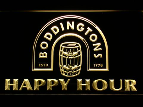 Boddingtons Happy Hour LED Neon Sign