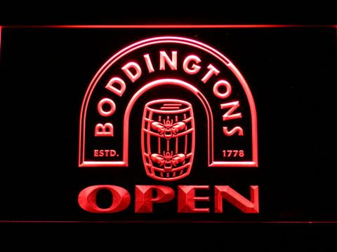 Boddingtons Open LED Neon Sign