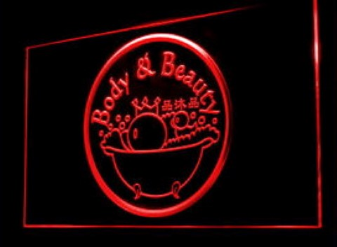 Body and beauty Salon Beautician LED Neon Sign