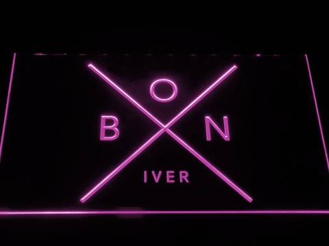 Bon Iver LED Neon Sign