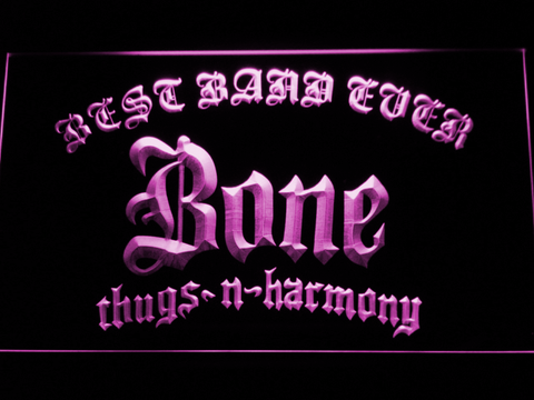 Bone Thugs N Harmony Best Band Ever LED Neon Sign