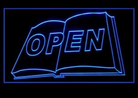 Book Shop Store LED Neon Sign