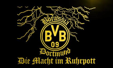 Borussia Dortmund Lightning BVB LED Neon Sign