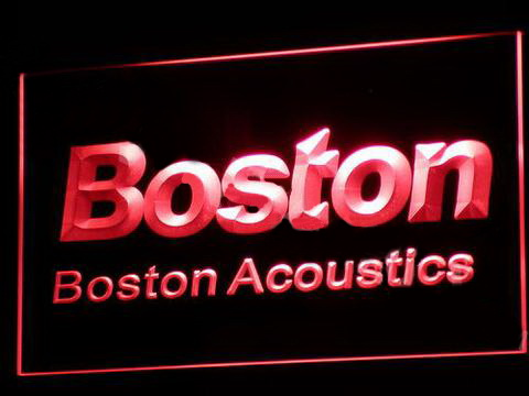 Boston Acoustics LED Neon Sign