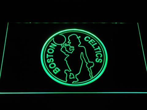 Boston Celtics Silhouette LED Neon Sign