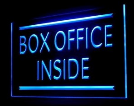 Box Office Cinema Tickets LED Neon Sign