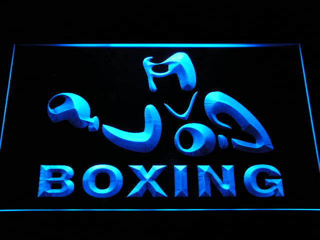 Boxing Game Fight Club Bar Beer Neon Light Sign