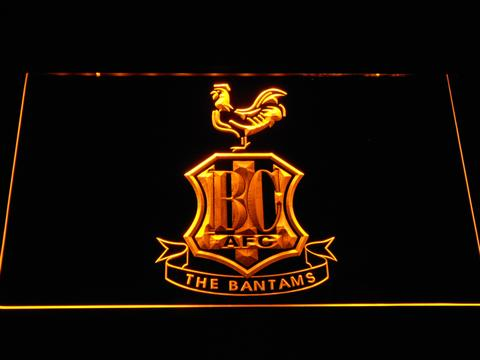 Bradford City AFC Crest LED Neon Sign