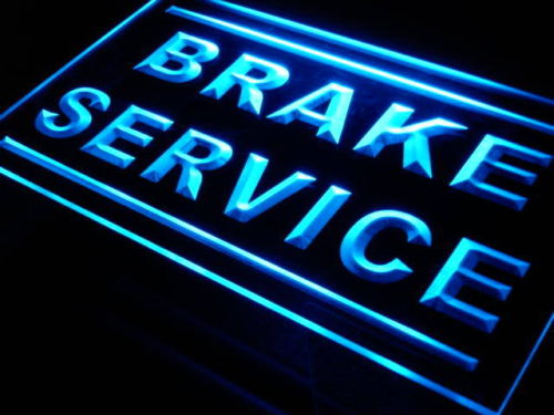 Brake Service LED Light Sign
