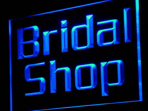Bridal Shop Display Lure Neon Light Sign