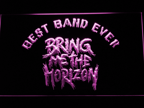 Bring Me The Horizon Best Band Ever LED Neon Sign