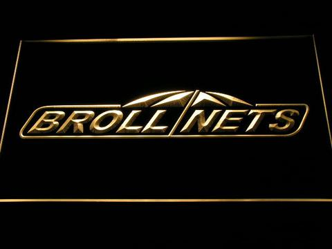 Brollnets Fishing Logo LED Neon Sign