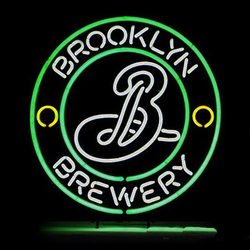 Brooklyn Brewery Round Neon Sign