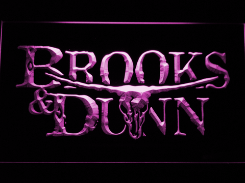 Brooks & Dunn LED Neon Sign