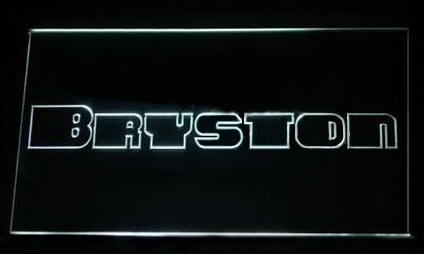 Bryston LED Neon Sign