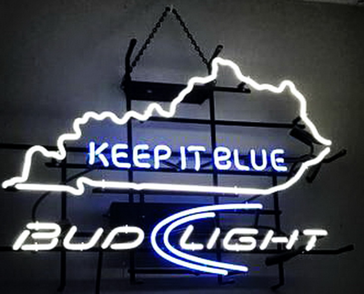 Bud Light Keep It Blue Neon Sign