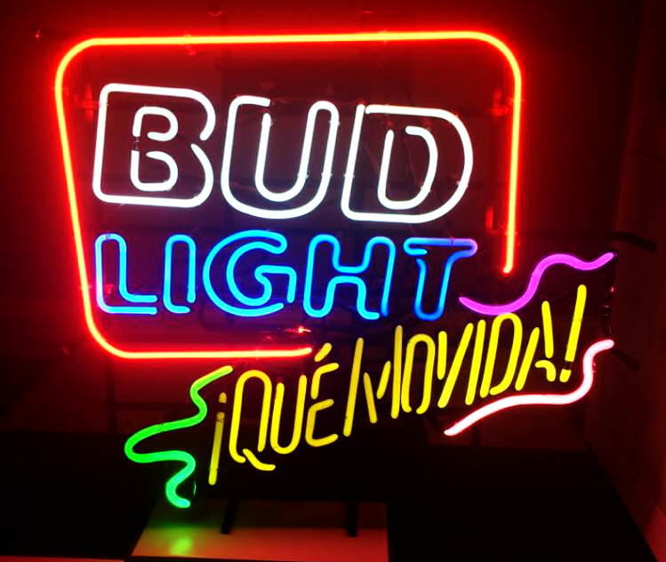 Bud Light Que Movida Neon Sign
