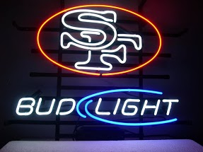 Bud Light SF Classic Neon Light Sign 17 x 14