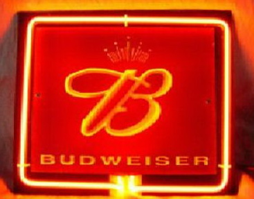 Budweiser King beer Bar Neon Light Sign