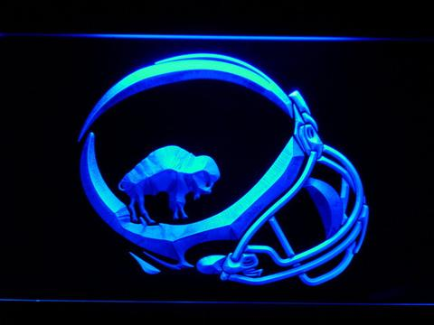 Buffalo Bills 1965-1973 Helmet LED Neon Sign
