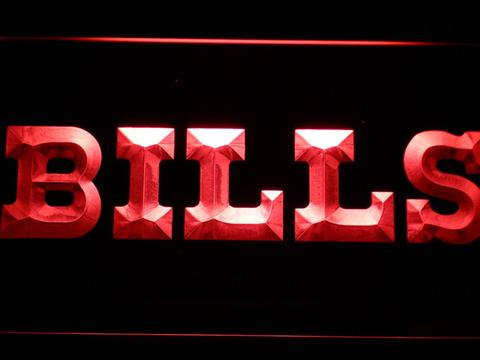 Buffalo Bills 1974-2010 Logo LED Neon Sign