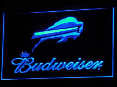 Buffalo Bills Budweiser LED Neon Sign