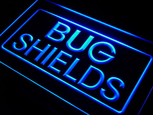 Bug Shields Car Auto Parts Neon Light Sign