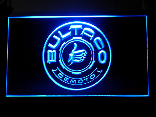 Bultaco Parts Service LED Sign