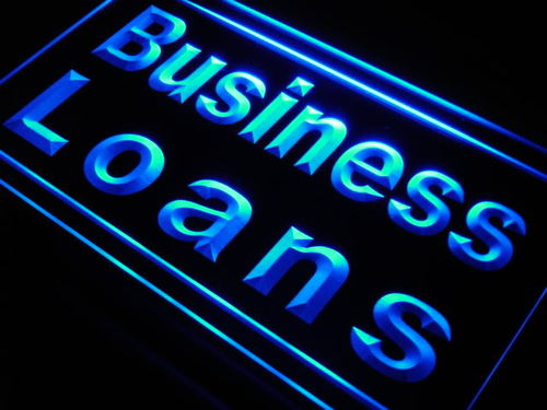 Business Loans Shop Display