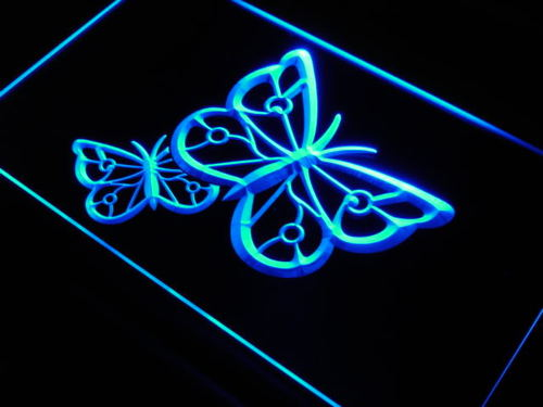 Butterfly Nature Home Display Neon Light Sign