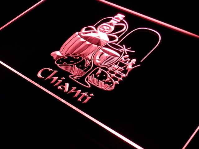 CHIANTI Red Wine LED Light Sign
