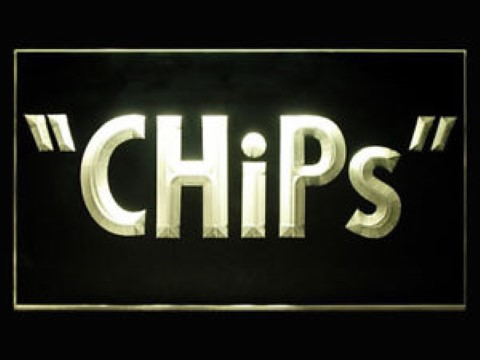 CHiPS LED Neon Sign