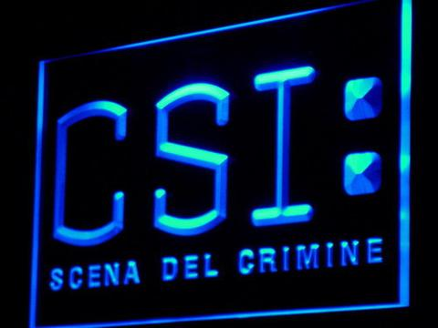 CSI Scena Del Crimine LED Neon Sign