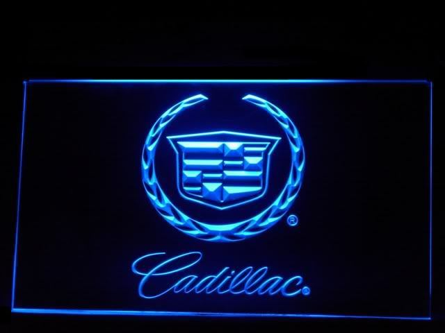Cadillac Parts LED Light Sign