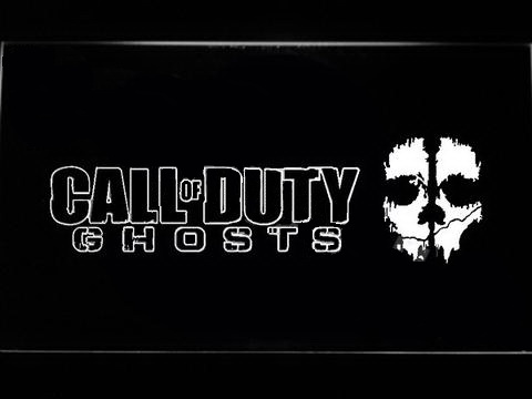 Call of Duty Ghosts LED Neon Sign