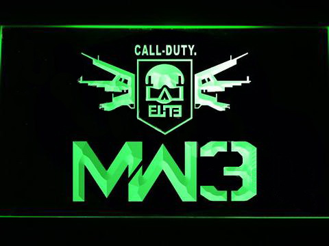 Call of Duty MW3 LED Neon Sign