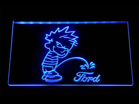 Calvin on Ford LED Neon Sign