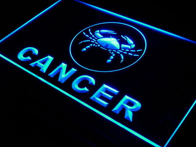 Cancer Zodiac LED Light Sign