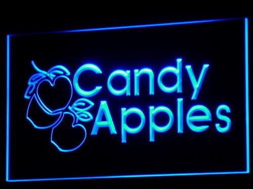 Candy Apples Shop Display