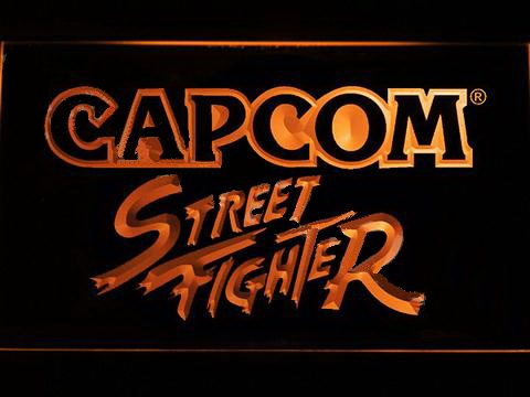 Capcom Street Fighter LED Neon Sign