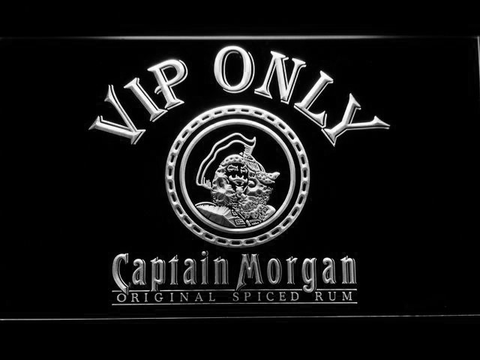 Captain Morgan Original VIP Only LED Neon Sign