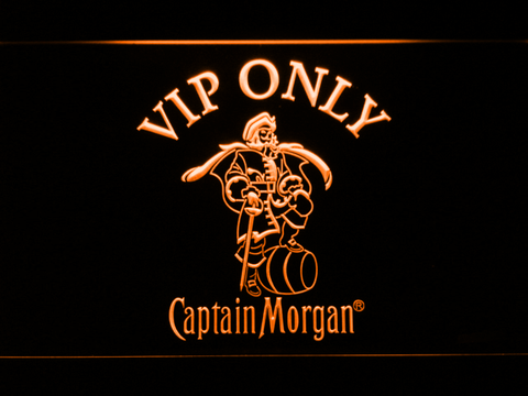Captain Morgan VIP Only LED Neon Sign