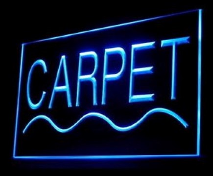 Carpet Pattern Woven Texture LED Neon Sign